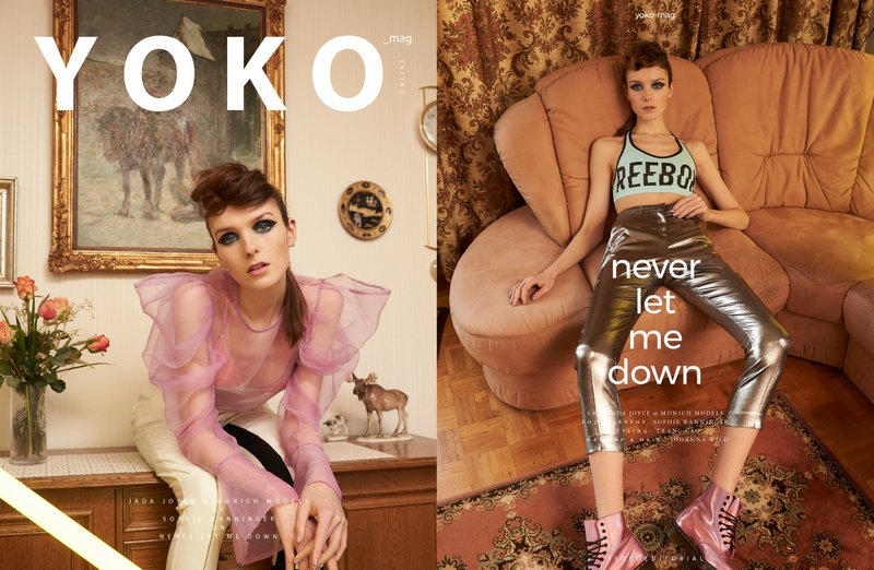 never let me down - Yoko Magazin